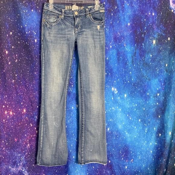 Hydraulic- Moto Boot Light Wash Jeans size 9/10